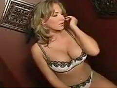 Naughty Blonde Confess Her Dirtiest Secrets To Gloryhole