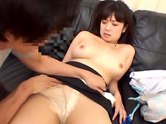 Blistering Asian Cowgirl Yelling As Her Hairy Pussy Is Fingered