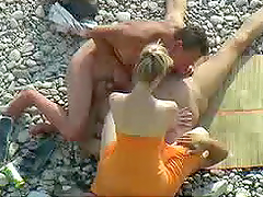 A Unique Bisexual Threesome on a Desolate Beach