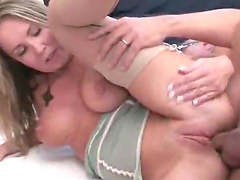 Fabulous Blonde Gets Fucked in the Ass by an Old Guy