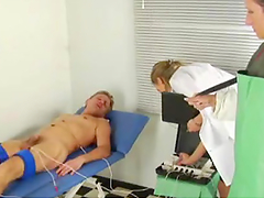 Submissive Male Lets the Nurses Use and Abuse Him