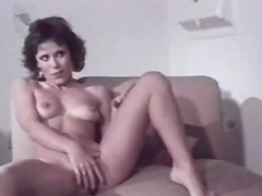 Amazing Retro Porn Clip with Two Stunning Brunettes and Ron Jeremy