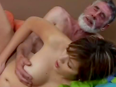 The Good Old Doc Gets to Fuck a Busty Brunette Patient