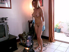Quickie fucking between a rich guy and Latina maid Kylie Rogue