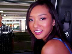 Small boobs Asian chick Alina Li gets fucked by a stranger
