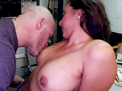 Wild 69 leads to amazing sex with a facial ending for pretty Kaylynn