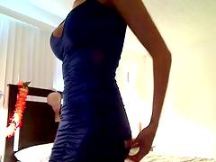 Fabulous Babe Rides a Big Cock on a Webcam