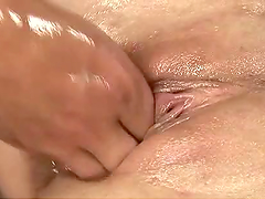 Horny Gals Stretch Their Pussies with Fists And Fucking Machines