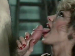 Vintage Blowjob with Smoking Hot Chick