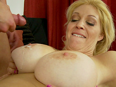 Large butt wife Charlee Chase loves riding in cowgirl. HD vide