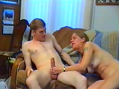 Petite blonde babe with a shaved pussy gets fucked hardcore in a juicy homemade clip