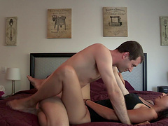 Nothing pleases Dana Vespoli as getting her tight cunt smashed