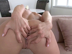 Kinky fucking ends with a facial for sexy pornstar Mea Melone
