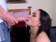Gabriella Paltrova loves when her day starts with deep anal sex