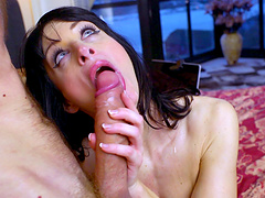 Hardcore morning fucking with a massive prick and Ava Courcelles