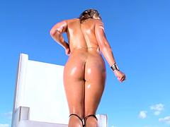 Seductive pornstar Abella Danger loves to be fucked in her butt