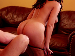 Amazing Ava Dalush gets her hands on a friend's delicious cock