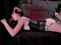 Redhead wife Mandy Muse has a BDSM fetish and tries it out