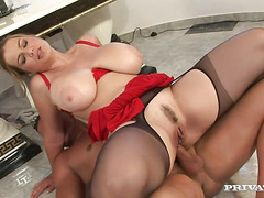 Amazing Sex With An Insanely Busty Babe