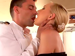 Honry Captain Fucks A Sex Blonde Maid