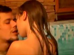 Hot Sex In An Indoor Pool