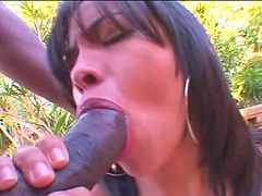 Outside sex and a blowjob is amazing with horny and wild  Talita