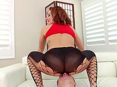 Close up ass pounding session with marvelous amateur fairy