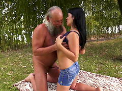 Sassy amateur cowgirl let loose in an interracial hardcore