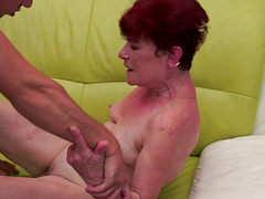 Spectacular babes suck that cock wildly before letting her coochie pounded hard