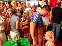 Horny girls stomach hardcore throbbing at a one of its kind club party