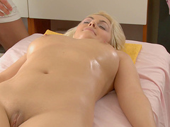 Will Petra's sweet vagina be able to handle the rough poking?