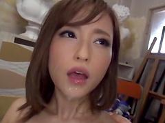 Looks like Kirishima is among the best cock suckers of the Far East
