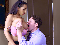 Priya is obsessed with the guy's dick and wants it inside her pussy