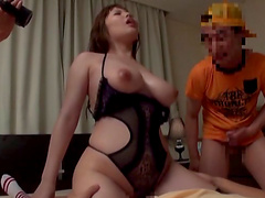 Will Rion be able to handle so many dicks at the same time?