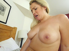 Sweet blonde Alix Lovell spreads legs and gets what she wanted