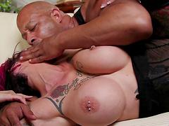 Shane's fat cock brings the flamboyant Anna all the pleasure she needs