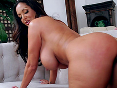 It's the high time for Ava Addams to impale herself on the cock!
