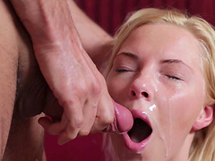 Angie Koks seduced by a pussy craving stallion for a fuck