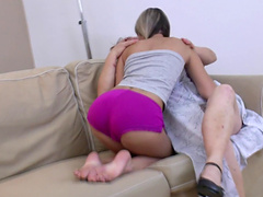 There is nothing better for mature lady than a lesbian sex with a girl