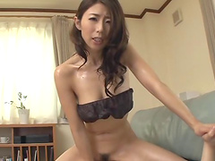Stunning Japanese Ayumi Shinoda can't wait to please her lover badly