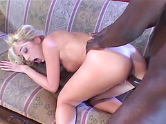 Black dude destroys wet pussy of Kelly Wells with his longpenis