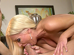 Experienced dude impales Diana on his cock in various positions