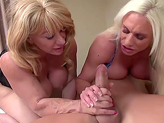 These cougars must be the cock-riding champions of the universe!