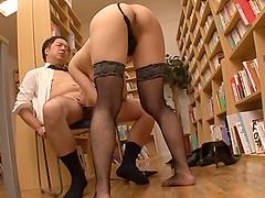 Shiraki Yuuko seduces a fellow for a formidable sex session