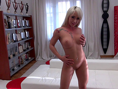 Natalia R and her friend have a blast with a big cock