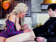 Nina Elle is an insatiable MILF who likes riding a dick