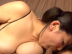 Chubby Konishi Mika is great at making a prick stiff with her lips