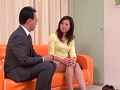 Japanese businessman craves a stunning woman's touch