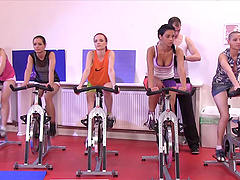 Kari, Alyssia Loop and their friend want to play with a stiff cock