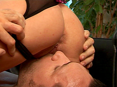 Paige Ashley and Leigh Logan are in need of a big love rod